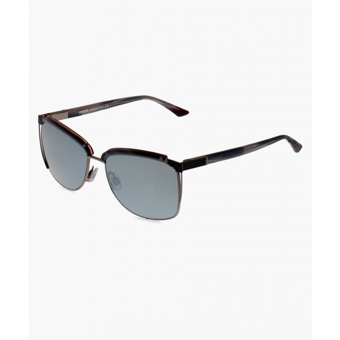 Image for Silver-tone sunglasses