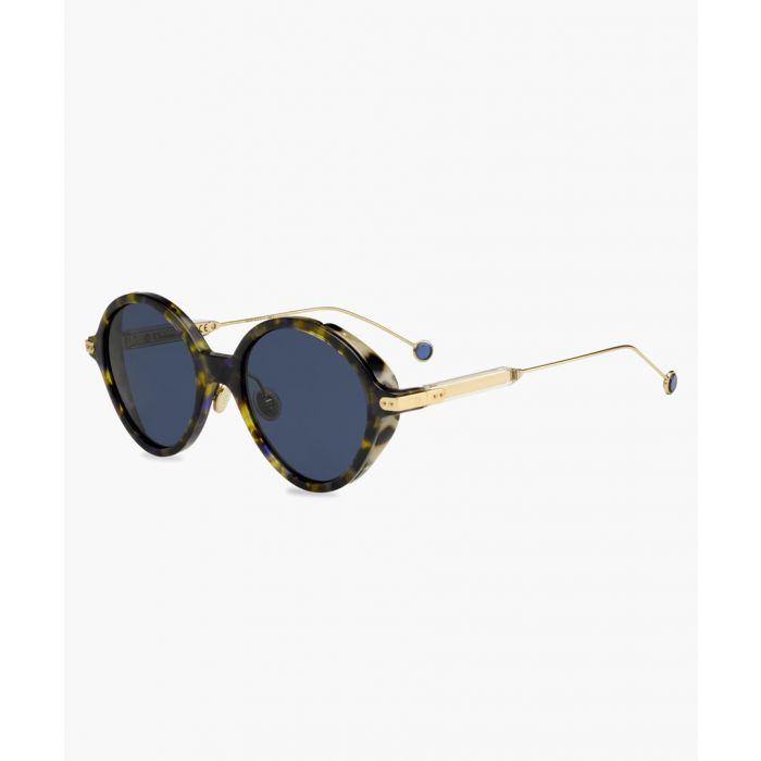 Image for Umbrage Green and blue havana sunglasses