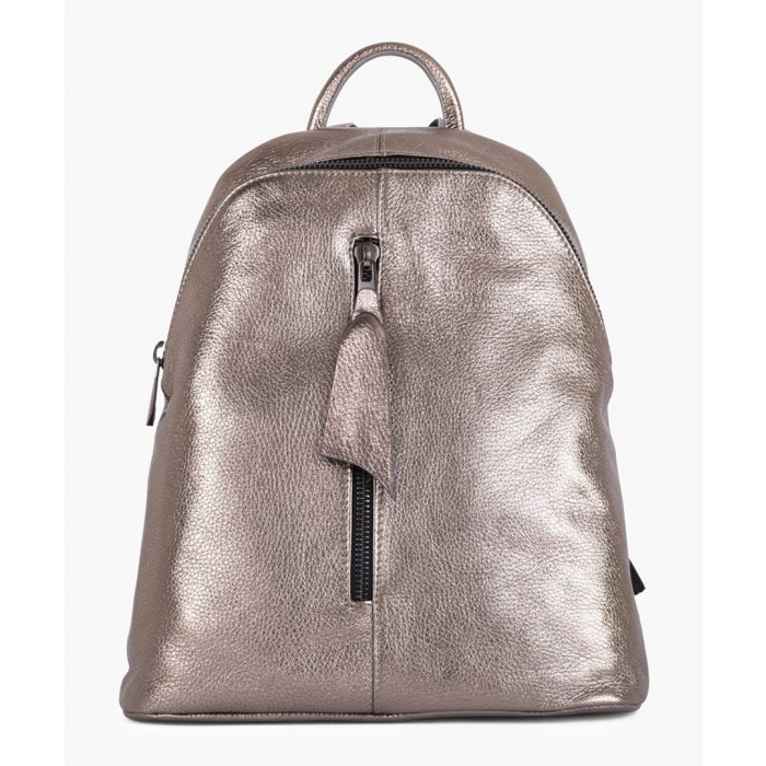 Image for Giorgia metallic backpack