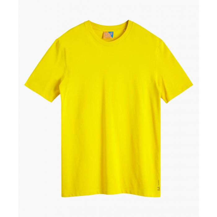 Image for Barn yellow cotton pique crew neck T-shirt