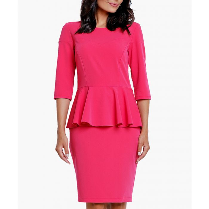 Image for Pink woven dress