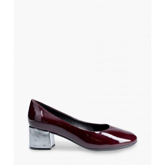 Image for Burgundy court heels