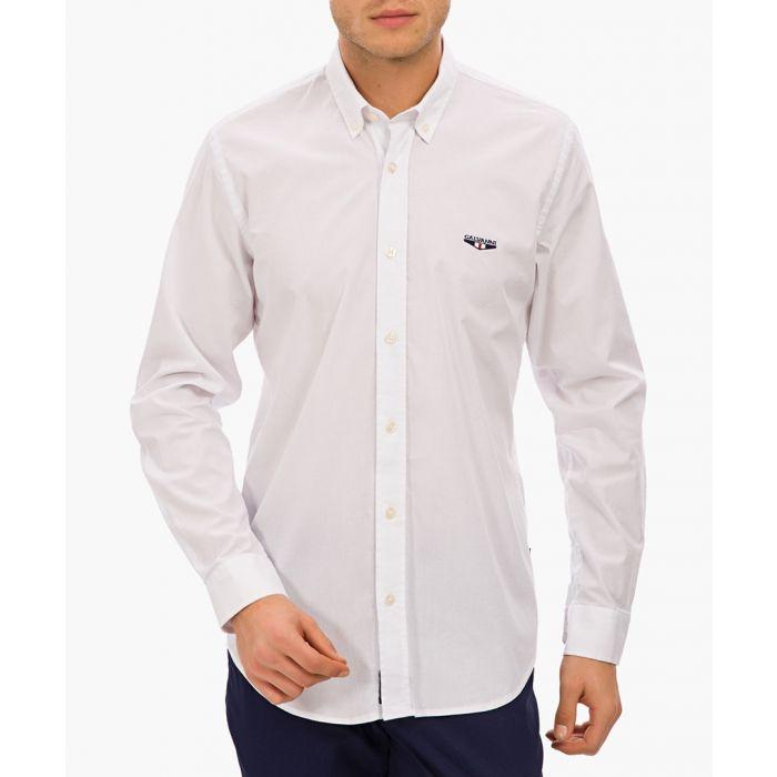 Image for Bossier cotton blend shirt