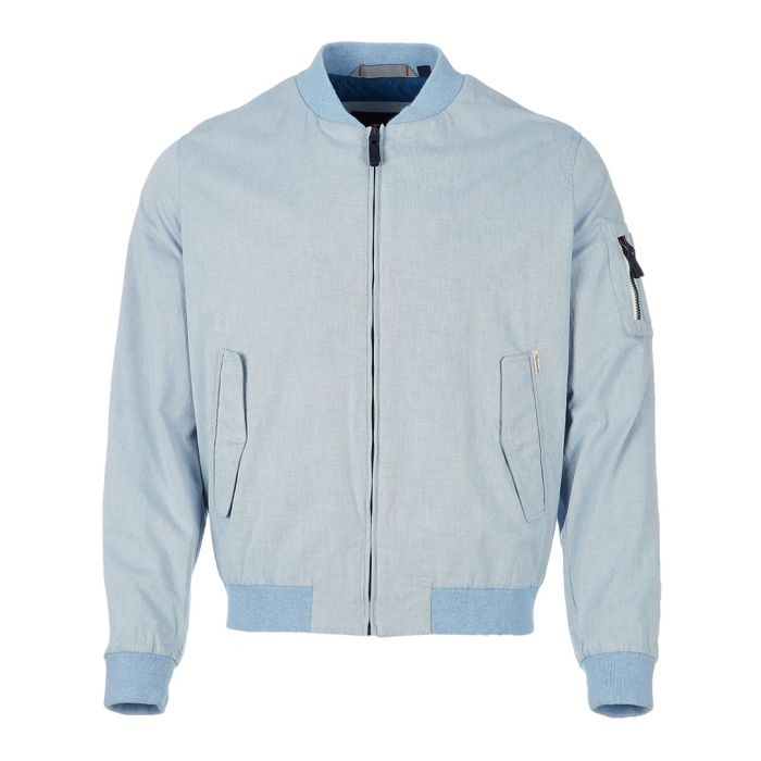 Image for Blue zip-up jacket