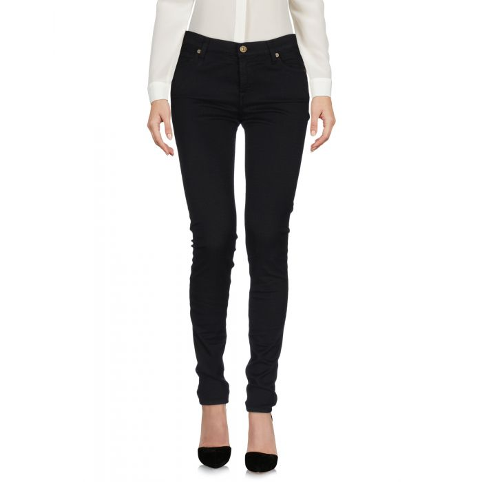 Image for 7 For All Mankind Black Cotton Pantaloni