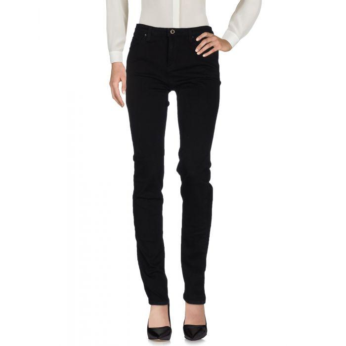 Image for Armani Jeans Black Cotton Pantaloni