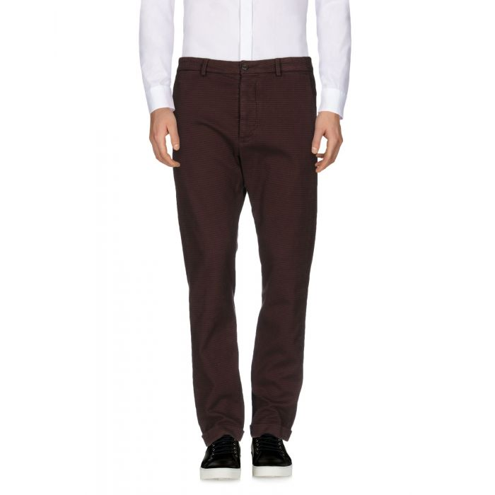 Image for True Nyc® Maroon Cotton Pantaloni