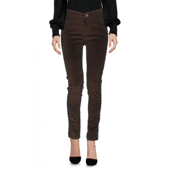 Image for P.A.R.O.S.H. Woman Military green Casual trousers