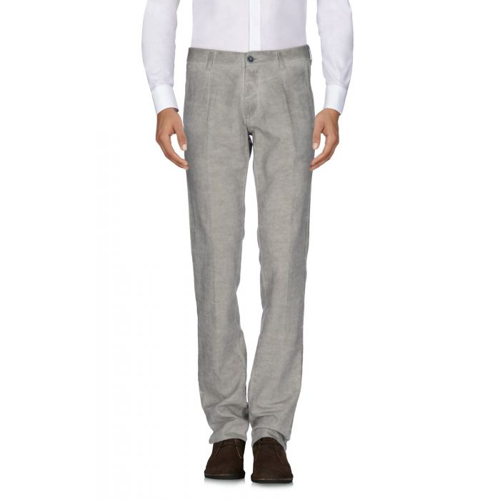 Image for Beige cotton and linen trousers