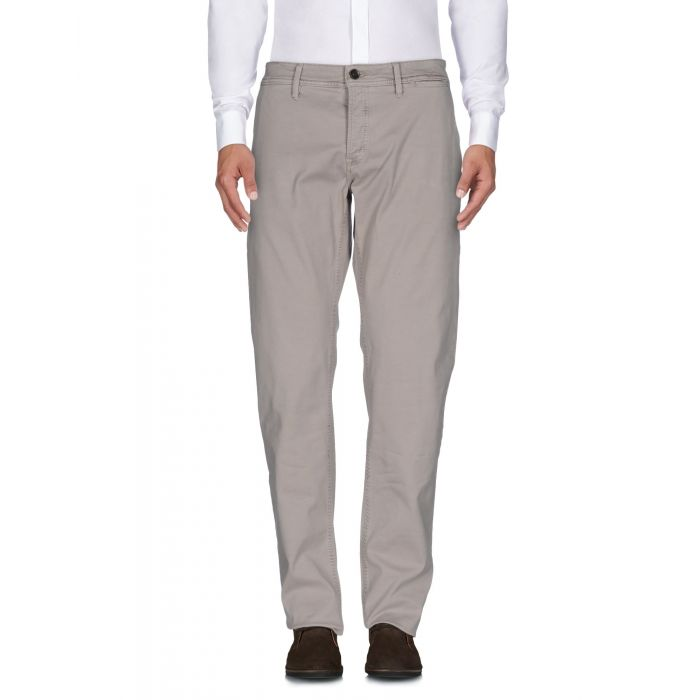 Image for Beige cotton trousers