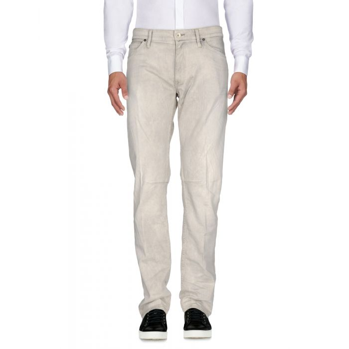 Image for Light grey cotton trousers