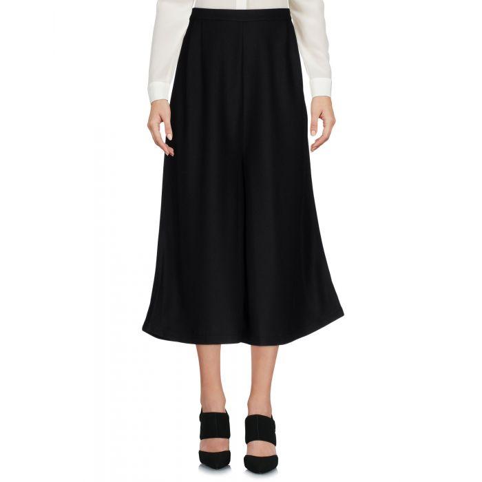 Image for Mnml Couture Black Polyester Pantaloni capri
