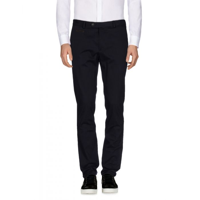 Image for Blue mid-rise trousers