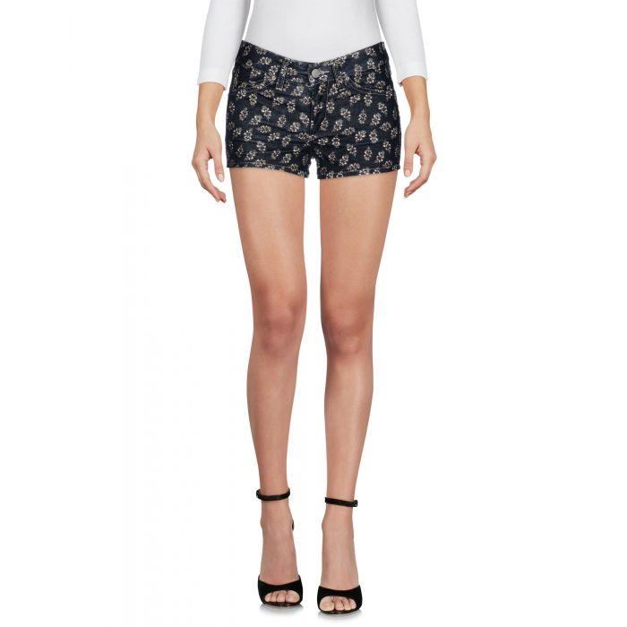 Image for Dark blue cotton shorts