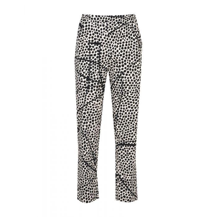 Image for Zero + Maria Cornejo Beige Silk Pantaloni