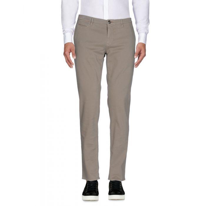 Image for Siviglia White Grey Cotton Pantaloni