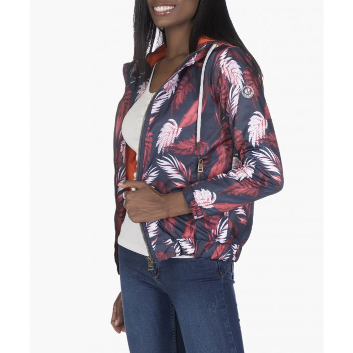 Image for Navy blue and bordeaux coat