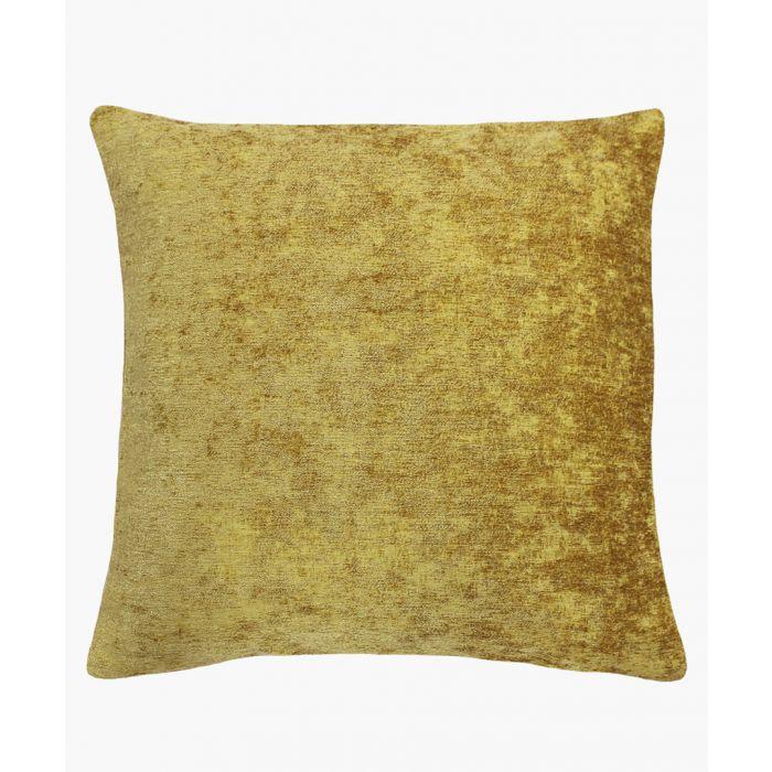 Image for Hampton ochre cushion