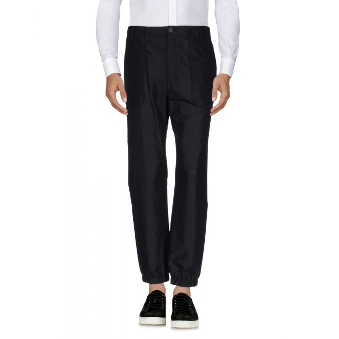 Image for Helmut Lang Black Cotton Pantaloni