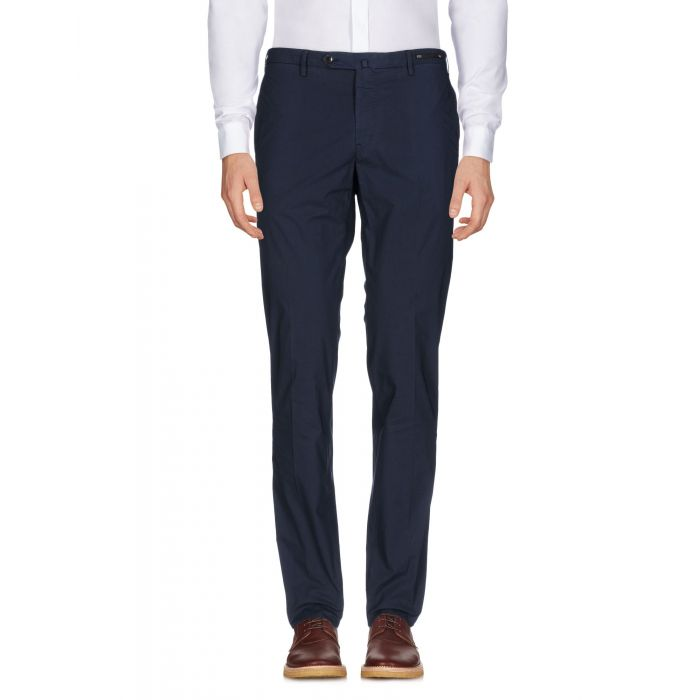 Image for Pt01 Dark blue Cotton Pantaloni