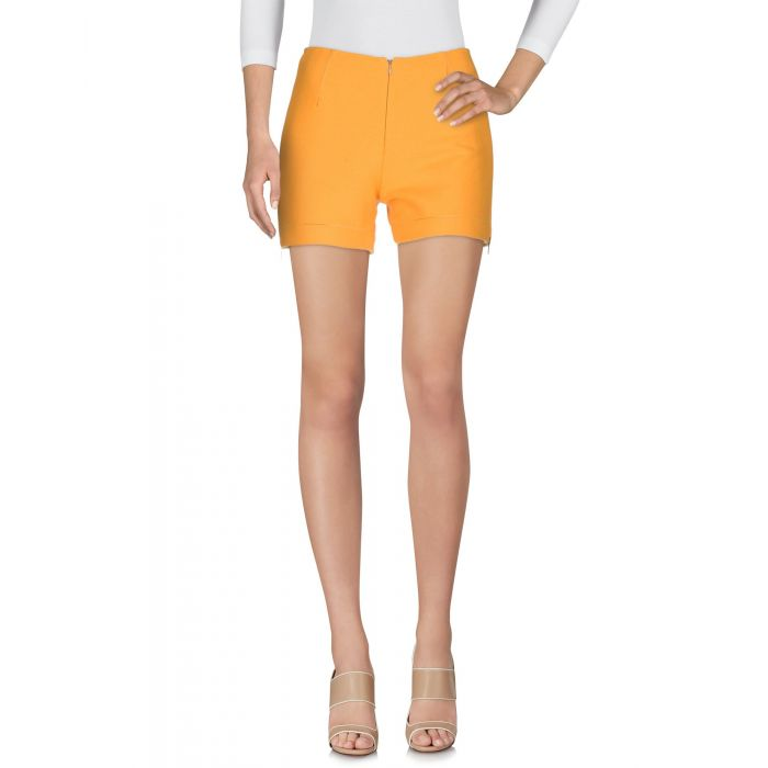 Image for Orange wool shorts