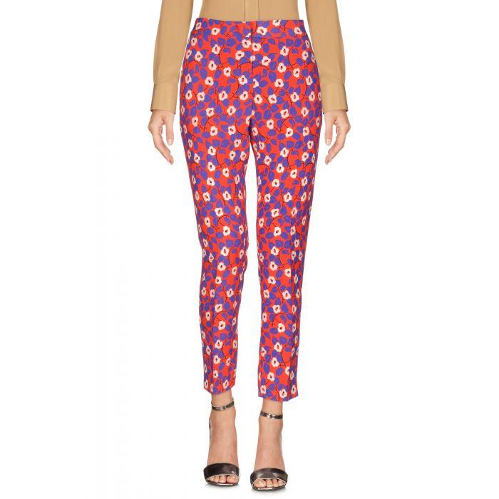 Image for Msgm Coral, Purple Viscose Pantaloni