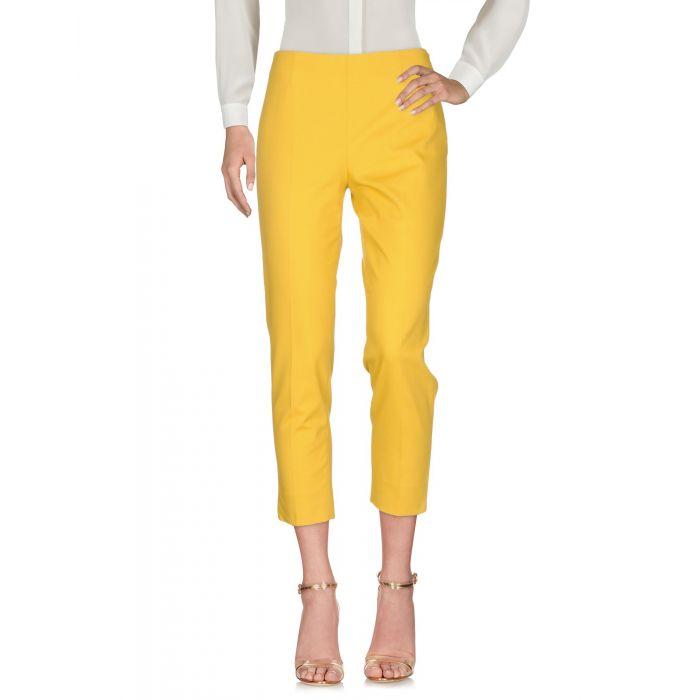 Image for True Royal Ocher Cotton Pantaloni capri