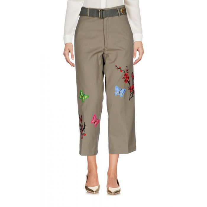 Image for Mpd Box Military green Cotton Pantaloni capri