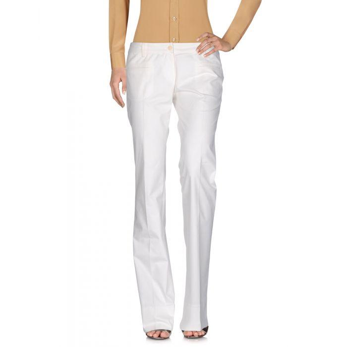 Image for Bui De Barbara Bui White Cotton Pantaloni
