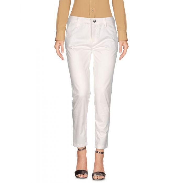 Image for Cafènoir White Cotton Pantaloni