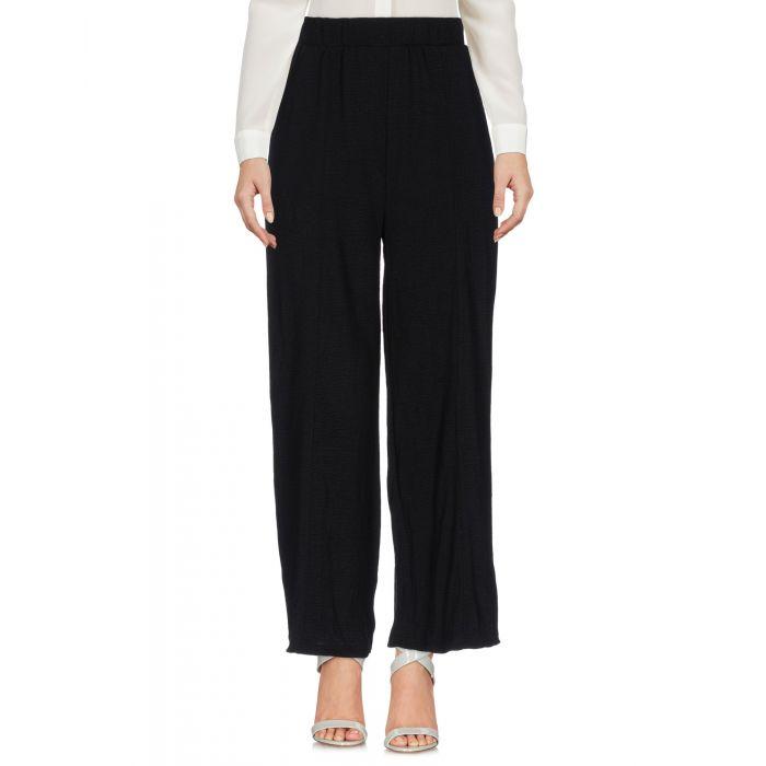 Image for Minimum Black Polyester Pantaloni capri