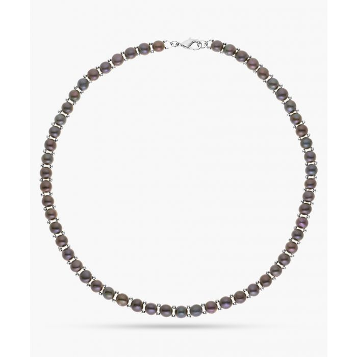 Image for Black Tahiti freshwater pearl necklace
