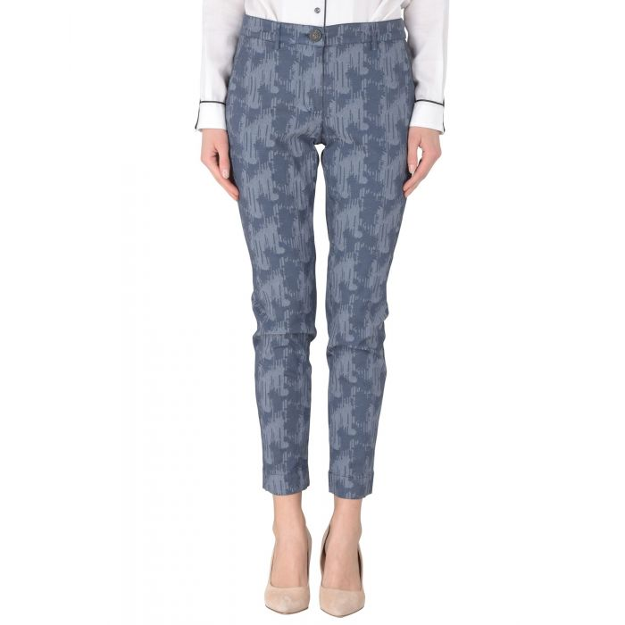 Image for Vivienne Westwood Anglomania Grey Cotton Pantaloni