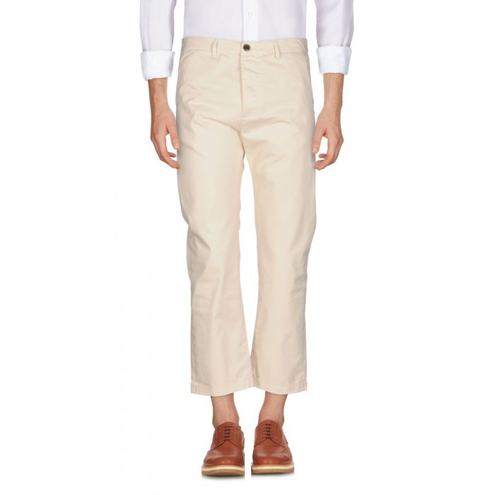 Image for True Nyc® Ivory Cotton Pantaloni