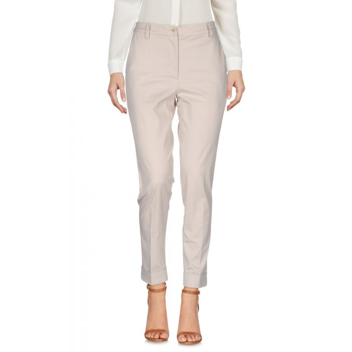 Image for Gentryportofino Beige Cotton Pantaloni