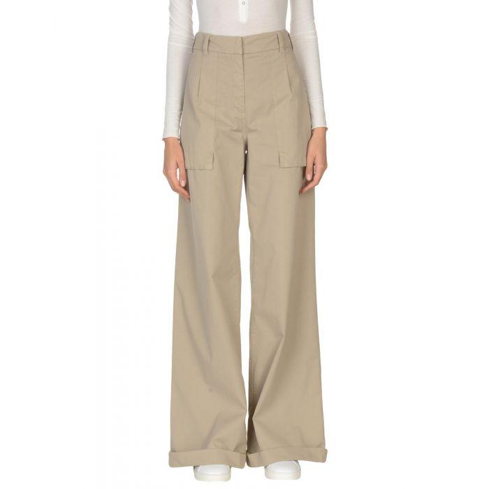 Image for Brunello Cucinelli Beige Cotton Pantaloni