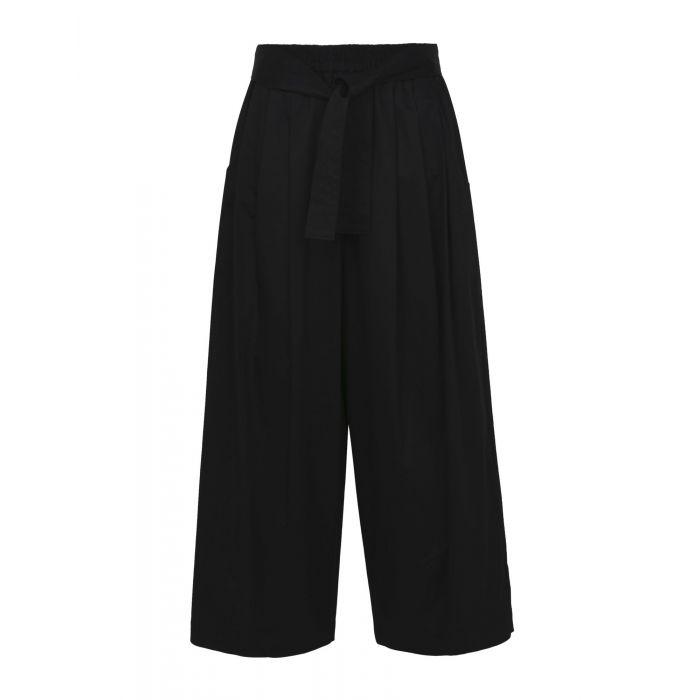 Image for Tome Black Cotton Pantaloni
