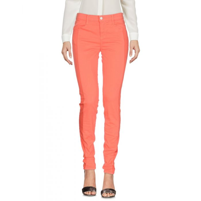 Image for J Brand Orange Cotton Pantaloni