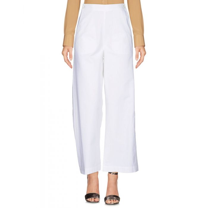 Image for M.I.H Jeans White Cotton Pantaloni