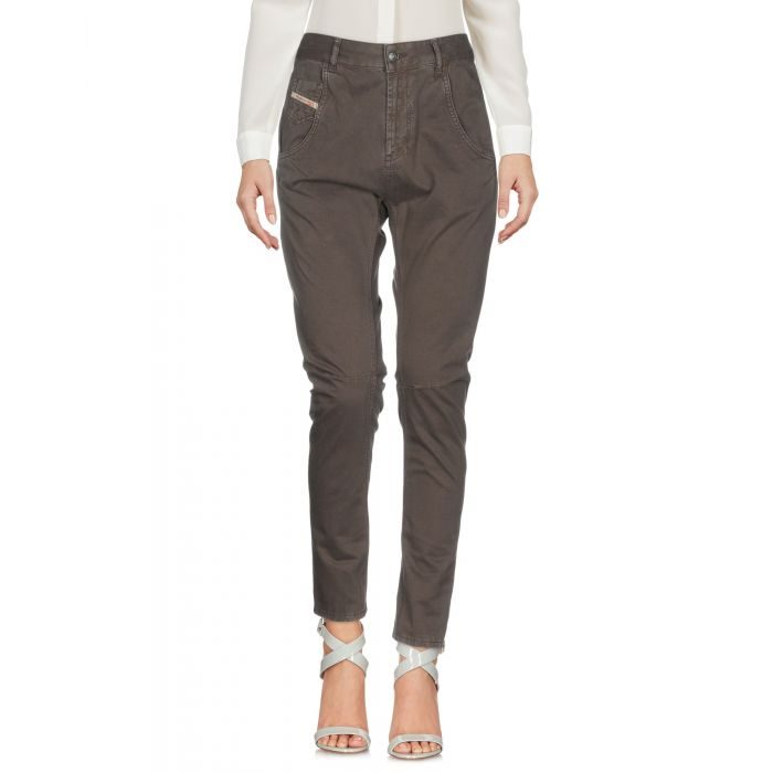 Image for Grey cotton casual trousers