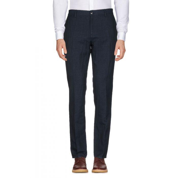 Image for John Varvatos Dark blue Linen Pantaloni