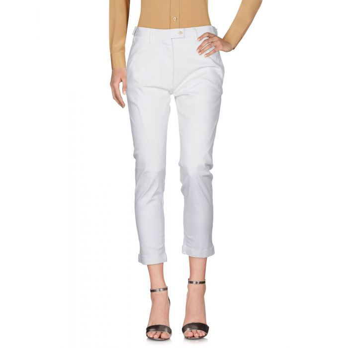 Image for Title A White Cotton Pantaloni