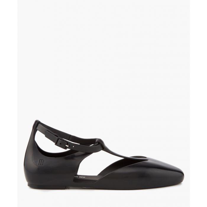 Image for x Jeremy Scott black ballet flats