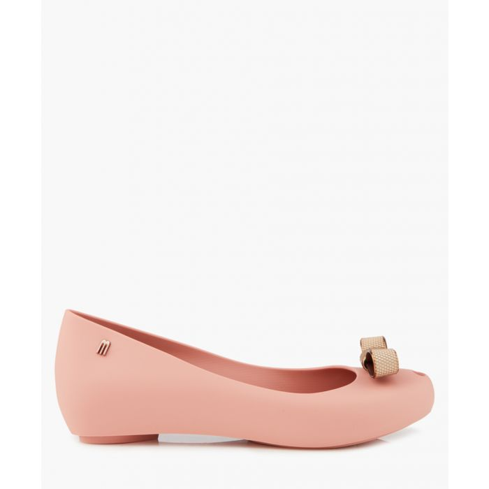Image for Mini Melissa Ballet Flats Blush