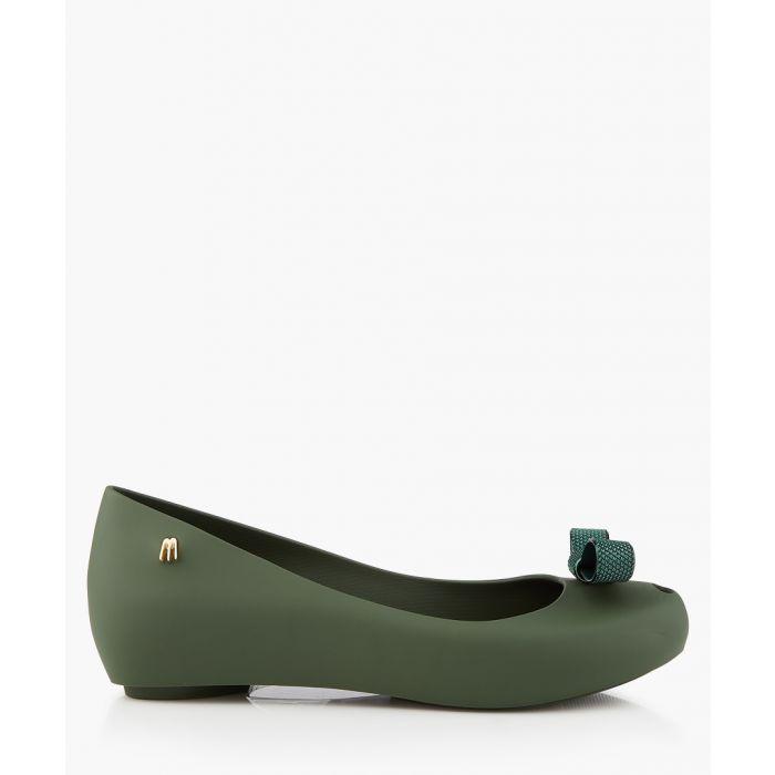 Image for Mini Melissa Ballet Flats Green