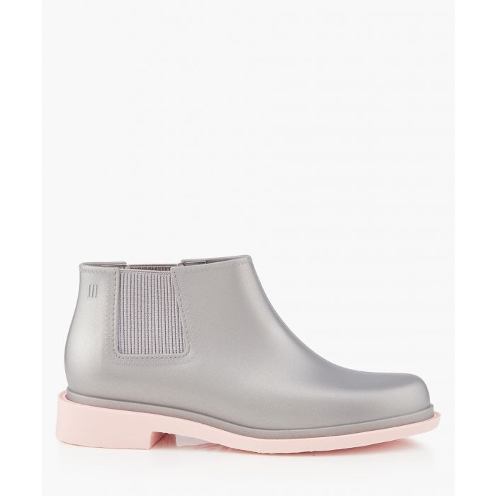 Image for Silver-tone ankle boots