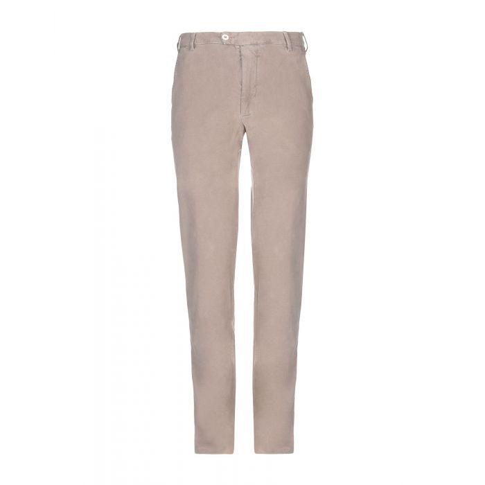 Image for Harry & Sons Khaki Cotton Pantaloni