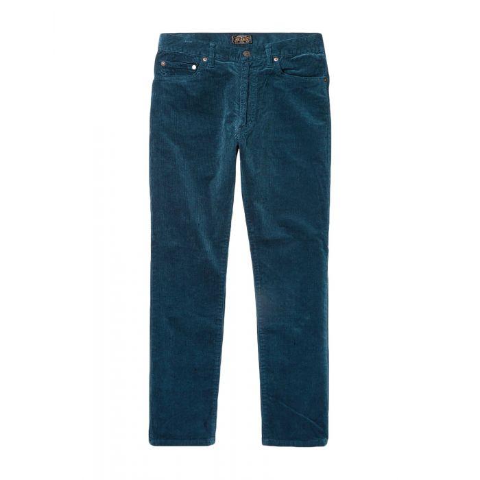 Image for Beams Man Deep jade Casual trousers