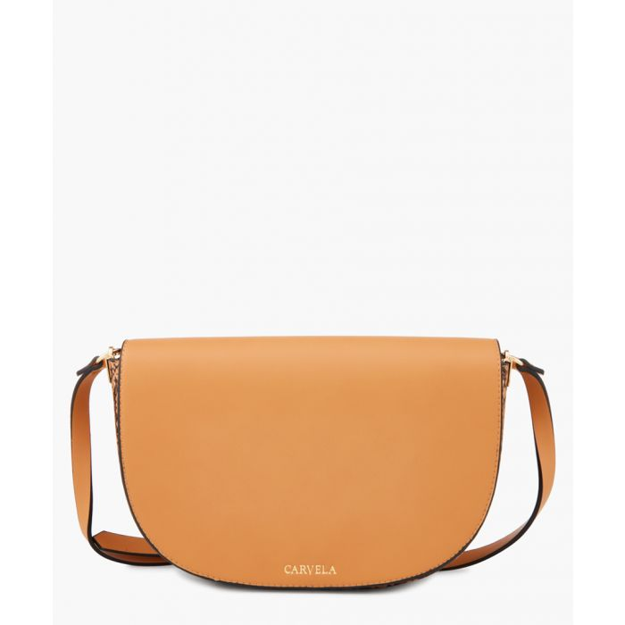 Image for Echo faux leather tan bag
