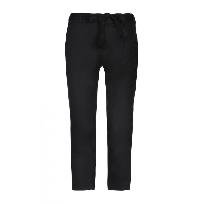 Image for Robert Rodriguez Woman Black 3/4-length trousers